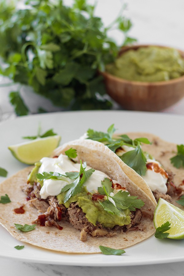 Pulled Pork Tacos - Low Carb