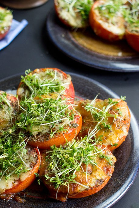 Grilled Tomatoes with Apricot Jam