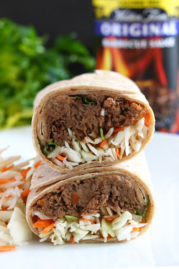 BBQ Beef Burritos - Low Carb, Sugar-Free, Gluten-Free Dinner Recipe