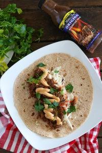 BBQ Beef Burritos - Low Carb, Sugar-Free, Gluten-Free Dinner Recipe