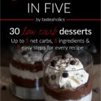 Dessert in Five Teaser & GIVEAWAY!