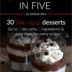 Dessert in Five Teaser & GIVEAWAY!