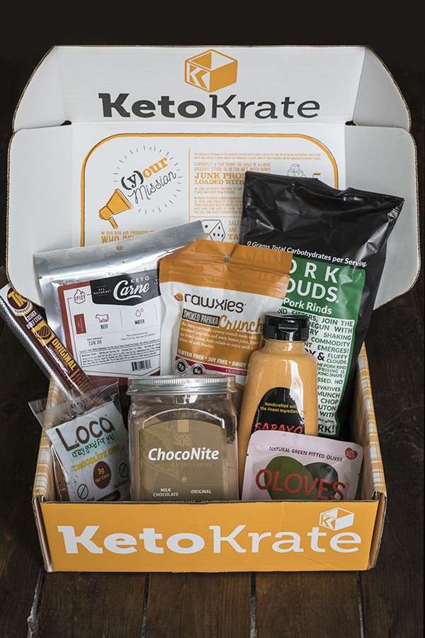 Keto Krate August Review