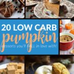 20 Low Carb & Sugar-free Pumpkin Desserts