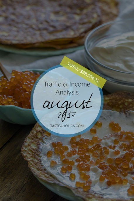 August 2017 Traffic & Income Analysis