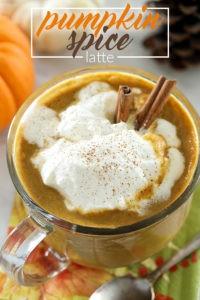 Pumpkin Spice Latte - sugar-free, low carb & keto