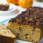 Pumpkin Spice Walnut Bread + WEEKLY MEAL PLANS