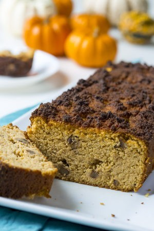 Pumpkin Spice Walnut Bread