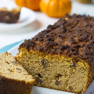 Pumpkin Spice Walnut Bread
