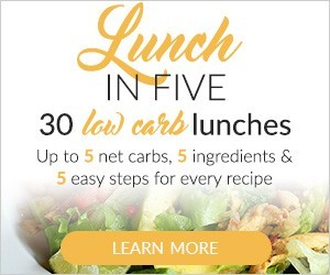 Lunch in Five - 30 Low-carb Keto Lunch Ideas