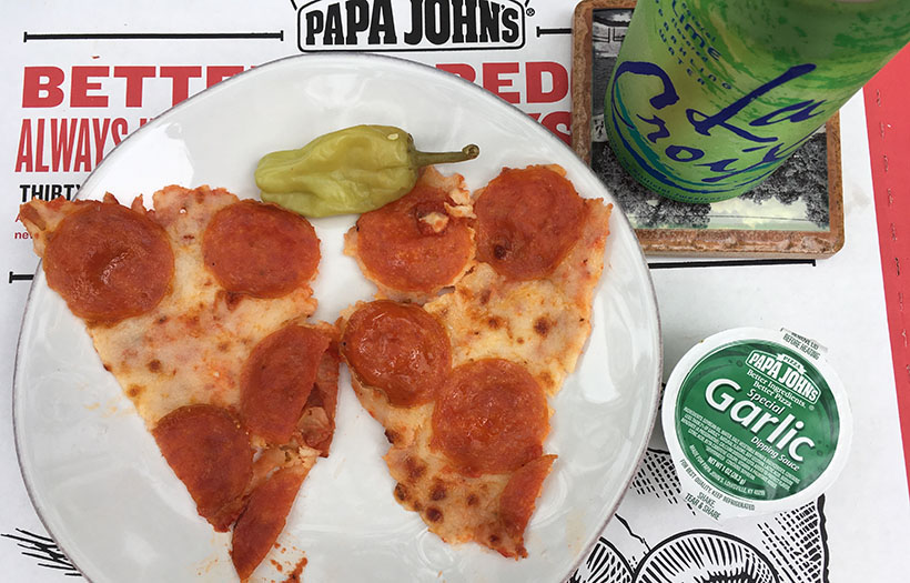 Low Carb Papa Johns Pepperoni Pizza Toppings