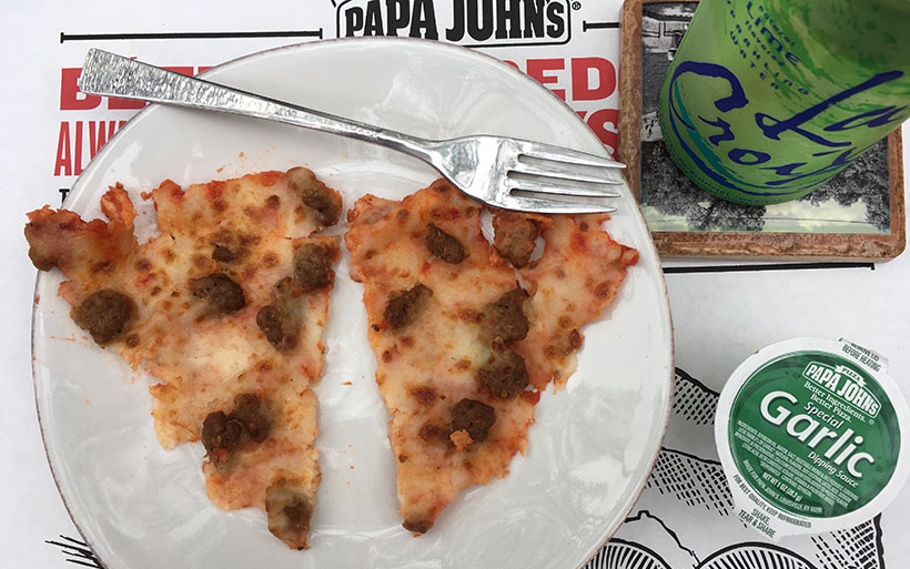 Low Carb Papa Johns Pizza Toppings - Italian Sausage