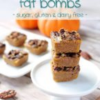 Pumpkin Pie Bites – Fat Bomb Recipe! [VIDEO]