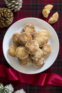 Low Carb Chewy Ginger Cookies