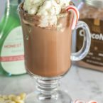 Keto White Chocolate Peppermint Mocha
