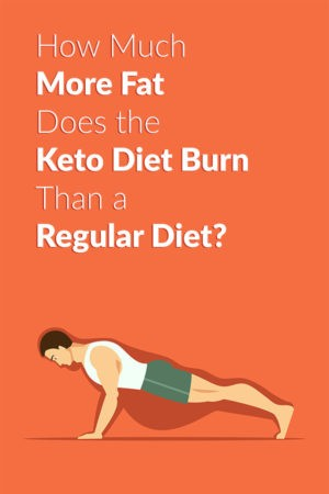 How Much More Fat Does the Keto Diet Burn Than a Regular Diet