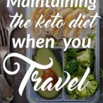 Maintaining the Keto Diet While Traveling