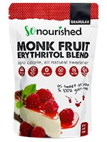 monk fruit + erythritol