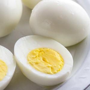 Keto Hard Boiled Eggs