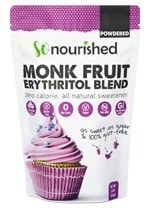 powdered monk fruit erythritol