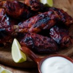 Hot Wings with Cool Lime Dipping Sauce Recipe