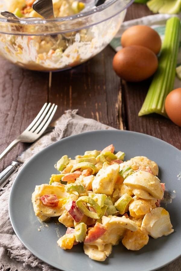 Keto Deviled Egg Salad1