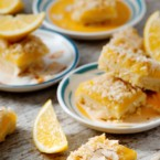 Lemon and Toasted Coconut Squares Recipe