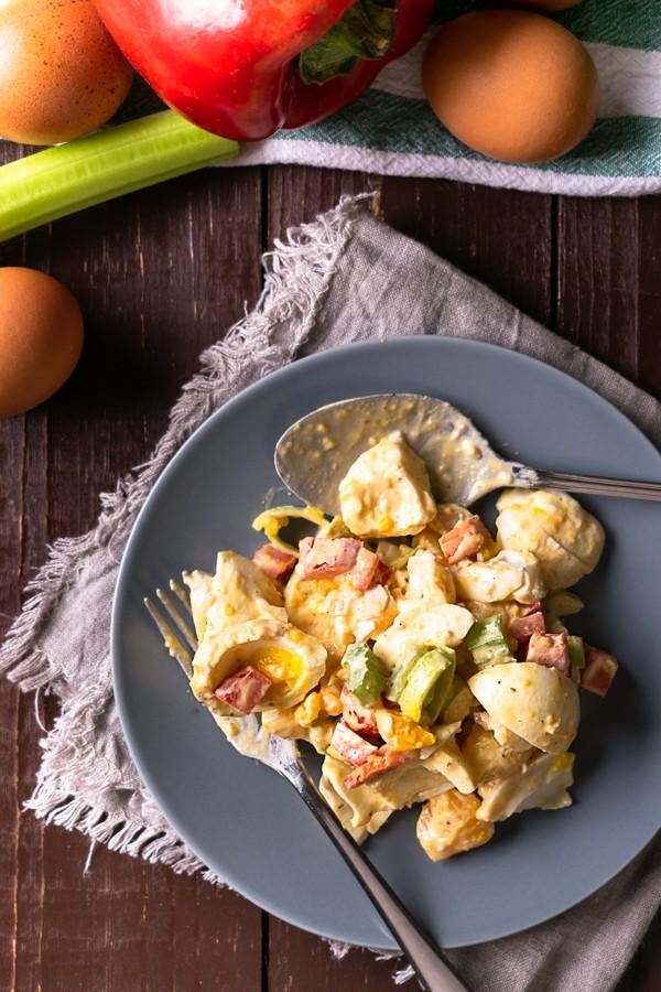 Low Carb Deviled Egg Salad2