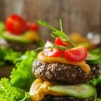 Portobello Beef Burgers Recipe
