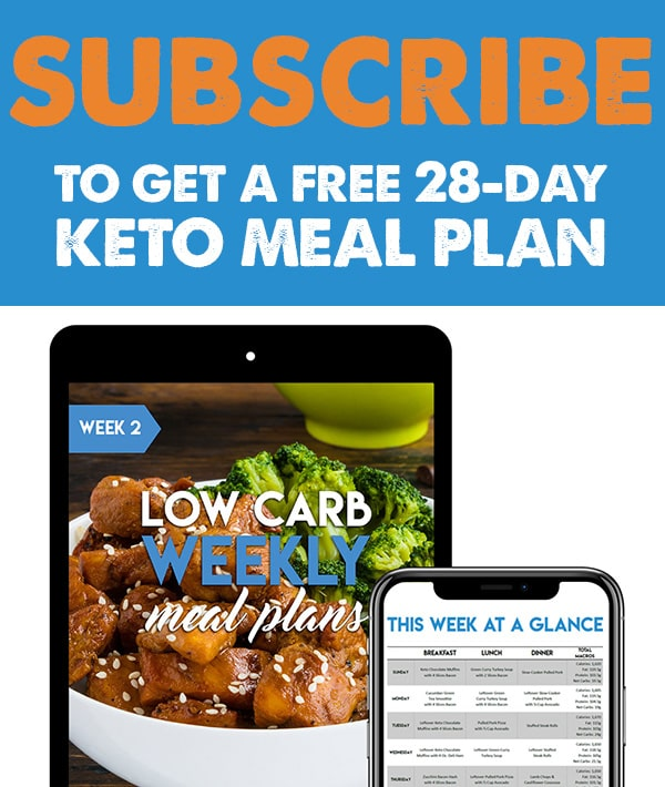 Subscribe today to get our free keto mealplanning ebooks