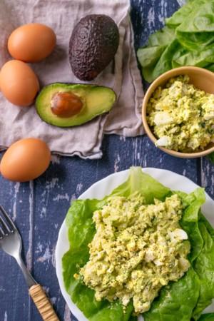 Keto Avocado Egg Salad
