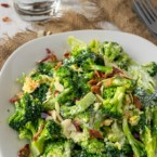 Keto Broccoli Salad Recipe